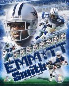 Emmitt Smith  All Time Leading Rusher Dallas Cowboys LIMITED STOCK 8X10 Photos