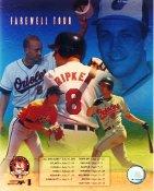 Cal Ripken Jr Farewll Tour Baltimore Orioles LIMITED STOCK 8X10 Photo