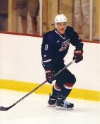 Jack Eichel USA National Team Development Program / Boston University / Buffalo Sabres LIMITED STOCK 8x10 Photo