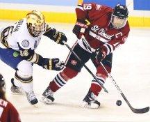 Drew LeBlanc St. Cloud State University / Chicago Blackhawks LIMITED STOCK 8x10 Photo