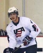 Adam Clendening USA / Chicago Blackhawks LIMITED STOCK 8x10 Photo