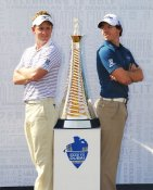 Luke Donald & Rory McIlroy PGA Mens Golf LIMITED STOCK 8X10 Photo