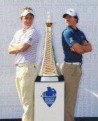 Luke Donald & Rory McIlroy PGA Mens Golf LIMITED STOCK 8X10 Photo