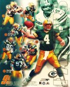 Dorsey Levens, Brett Favre, Antonio Freeman, Gilbert Brown 1999 Green Bay Packers Slight Creases Super Sale 8X10 Photo