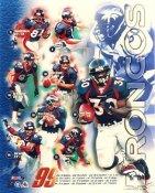 Terrell Davis, Shannon Sharpe, Ed McCaffrey, Brian Griese 1999 Denver Broncos LIMITED STOCK 8X10 Photo