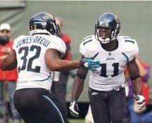 Mike Sims-Walker, Maurice Jones Drew Jacksonville Jaguars LIMITED STOCK 8x10 Photo