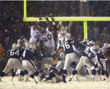 Adam Vinatieri New England Patriots LIMITED STOCK SATIN 8X10 Photo SNOW BOWL