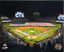 Wrigley Field Chicago Cubs 2016 World Series SATIN 8X10 Photo