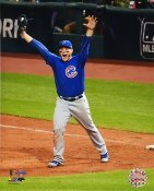 Anthony Rizzo Game 7 Final Out 2016 World Series Chicago Cubs SATIN 8X10 Photo
