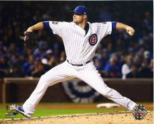 Jon Lester Game 5 World Series 2016 Chicago Cubs SATIN 8X10 Photo