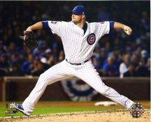 Jon Lester Game 5 World Series 2016 Chicago Cubs SATIN 8X10 Photo