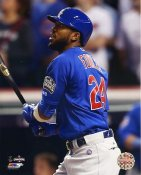 Dexter Fowler Game 7 Home Run 2016 World Series Chicago Cubs SATIN 8X10 Photo