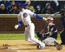 Kris Bryant Game 5 Home Run 2016 World Series Chicago Cubs SATIN 8X10 Photo