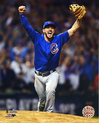 Kris Bryant Game 7 World Series 2016 Chicago Cubs SATIN 8X10 Photo