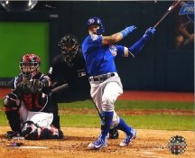 Javier Baez Game 7 Home Run 2016 World Series Chicago Cubs SATIN 8X10 Photo