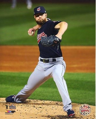 Corey Kluber Game 4 World Series 2016 Cleveland Indians SATIN 8X10 Photo