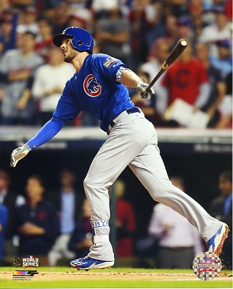 Kris Bryant Game 6 Home Run 2016 World Series Chicago Cubs SATIN 8X10 Photo