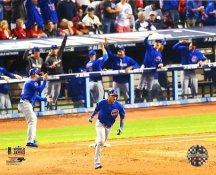 Addison Russell Game 6 Grandslam 2016 World Series Chicago Cubs SATIN 8X10 Photo