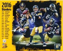 Pittsburgh Steelers 2016 Team Composite SATIN 8X10 Photo