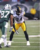 Ike Taylor Pittsburgh Steelers LIMITED STOCK SATIN 8X10 Photo