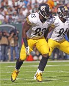Jason Worilds Pittsburgh Steelers LIMITED STOCK 8x10 Photo