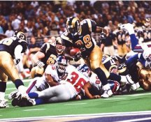Marshall Faulk St Louis Rams LIMITED STOCK 8x10 Photo