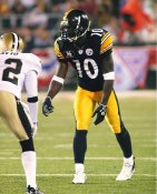 Santonio Holmes Pittsburgh Steelers LIMITED STOCK 8x10 Photo