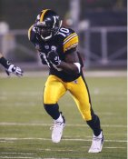 Santonio Holmes Pittsburgh Steelers LIMITED STOCK SATIN 8x10 Photo