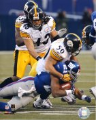 Larry Foote & Troy Polamalu Pittsburgh Steelers LIMITED STOCK 8x10 Photo