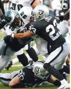 Chris Carr Oakland Raiders LIMITED STOCK 8X10 Photo