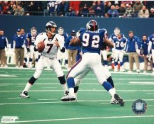 Michael Strahan & John Elway New York Giants LIMITED STOCK 8X10 Photo