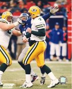 Michael Strahan & Brett Favre New York Giants LIMITED STOCK 8X10 Photo