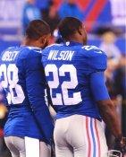 David Wilson & Jayron Hosley New York Giants LIMITED STOCK SATIN 8X10 Photo