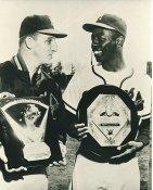 Hank Aaron & Warren Spahn Milwaukee Braves LIMITED STOCK 8X10 Photo