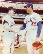 Sandy Koufax & Harmon Killibrew LA Dodgers & Minnesota Twins LIMITED STOCK 8X10 Photo
