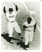 Willie Mays & Leo Durocher New York Giants Slightly Blurry LIMITED STOCK 8X10 Photo