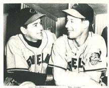 Bob Feller & Lou Boudreau Cleveland Indians LIMITED STOCK 8X10 Photo
