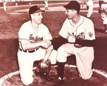 Bob Feller & Hal Newhouser Cleveland Indians & Detroit Tigers LIMITED STOCK 8X10 Photo