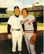 Brooks Robinson & Al Kaline Baltimore Orioles & Detroit Tigers LIMITED STOCK 8X10 Photo