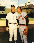 Brooks Robinson & Al Kaline Baltimore Orioles & Detroit Tigers LIMITED STOCK 8X10 Photo
