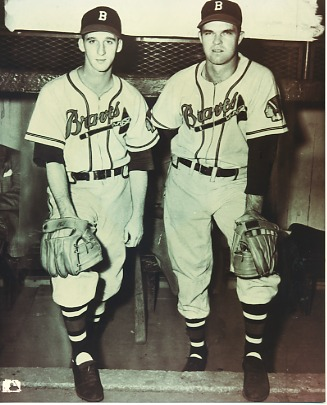 Warren Spahn & Johnny Sain Boston Braves LIMITED STOCK 8X10 Photo