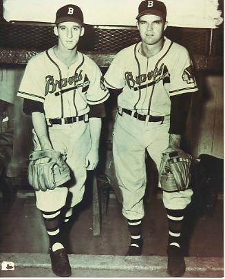 Warren Spahn & Johnny Sain Boston Braves LIMITED STOCK 8X10 Photo