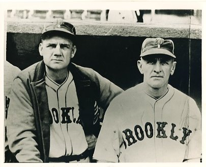 Max Carey & Casey Stengel Brooklyn Dodgers LIMITED STOCK 8X10 Photo