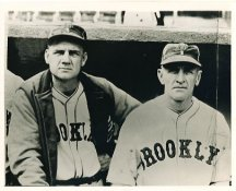 Max Carey & Casey Stengel Brooklyn Dodgers LIMITED STOCK 8X10 Photo