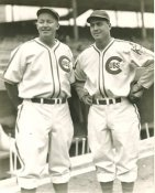 Gabby Hartnett & Billy Herman Chicago Cubs LIMITED STOCK 8X10 Photo