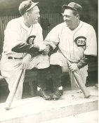 Rogers Hornsby & Hack Wilson Chicago Cubs LIMITED STOCK 8X10 Photo