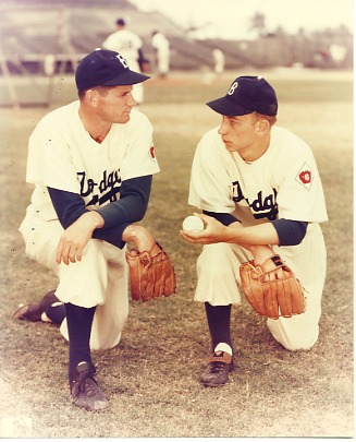 Preacher Roe & Johnny Podres Brooklyn Dodgers LIMITED STOCK 8X10 Photo
