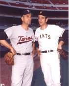 Gaylord Perry & Jim Perry San Francisco Giants & Minnesota Twins LIMITED STOCK 8X10 Photo