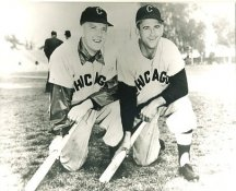 Luke Appling & Cass Michaels Chicago White Sox LIMITED STOCK 8X10 Photo