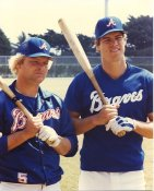 Bob Horner & Dale Murphy Atlanta Braves LIMITED STOCK 8X10 Photo